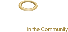 Saint in the Community Logo